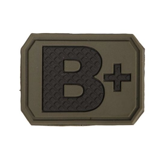 Mil-Tec Blodtype B+ VelcroPatch