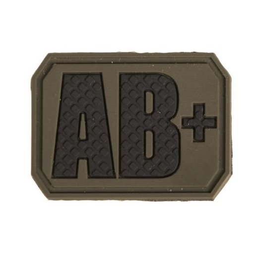 Mil-Tec Blodtype AB+ VelcroPatch