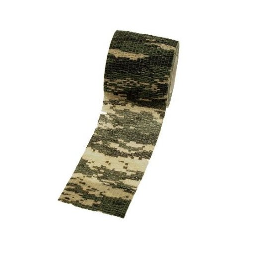 Camouflagetape aftagelig - Digital camouflage