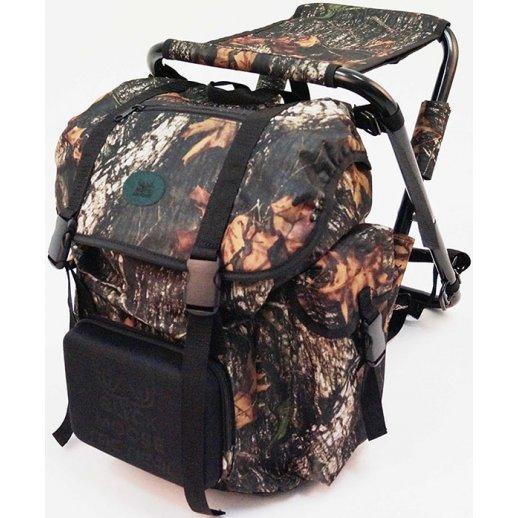 Black Moose - Rygsæk med stol camouflage