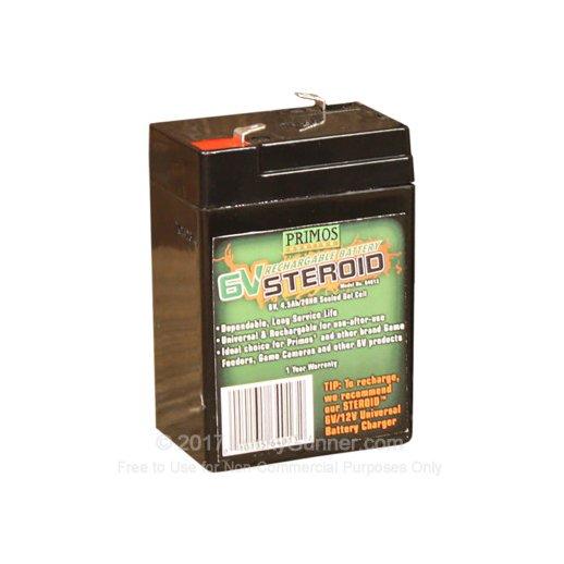 Primos 6V Steroid Battery
