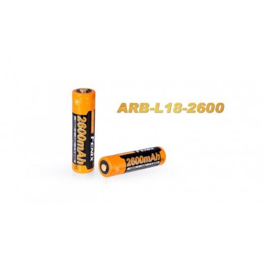 Fenix 18650 Lion Batteri 2600mAh