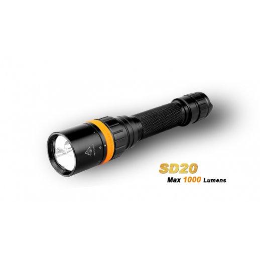 Fenix SD20 - Diving Light