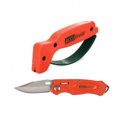 AccuSharp - Sæt med foldekniv og knivsliber
