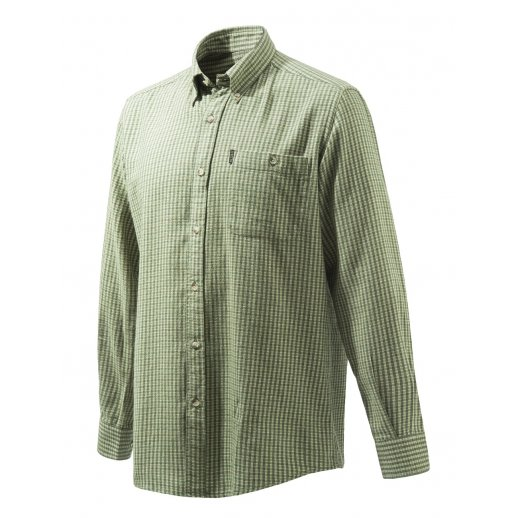 Beretta - Flannel langærmet skjorte i tern