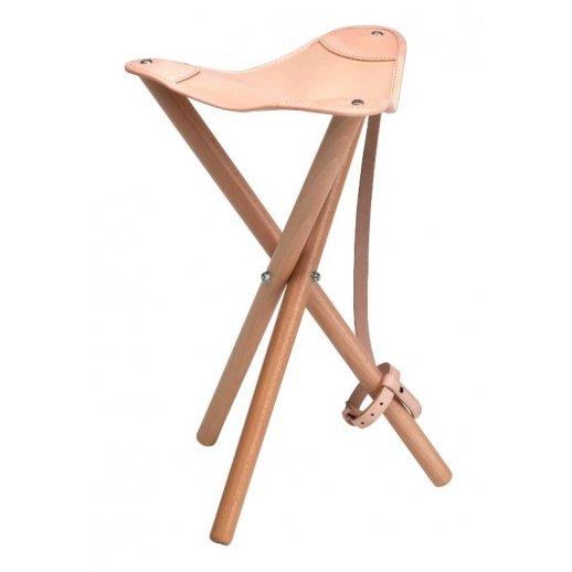 Normark - Jagtstol læder 50 cm