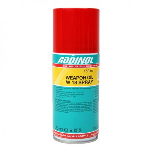 Addinol våbenolie spray