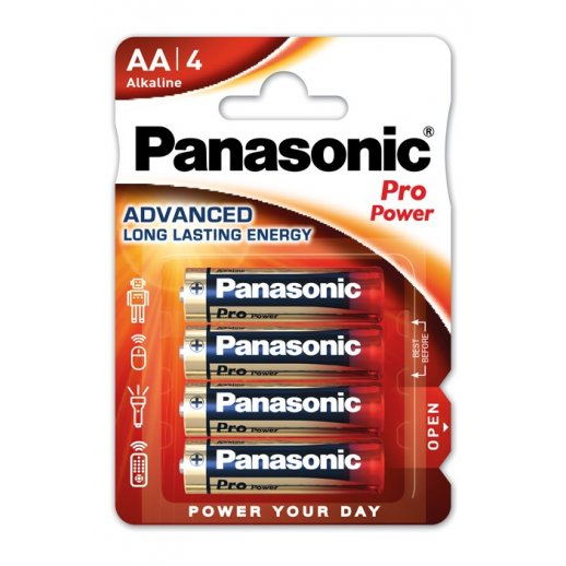 Panasonic Pro Power AA batterier