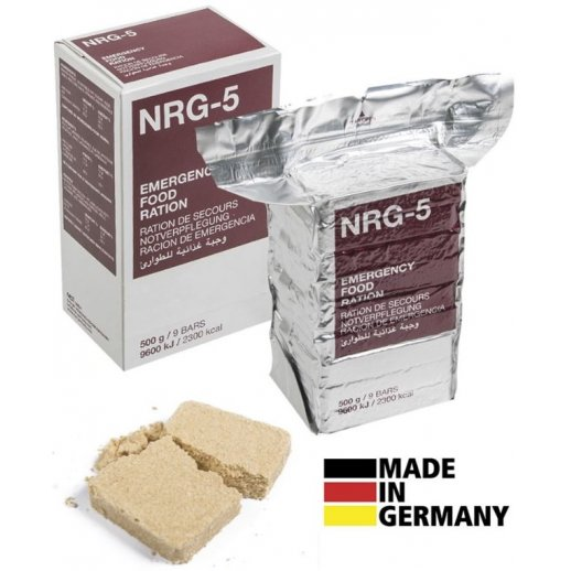 Emergency Food Ration NRG-5, 2300 kcal
