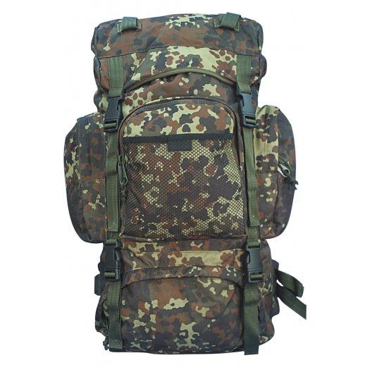 Commando Rygsæk - Flecktarn camouflage