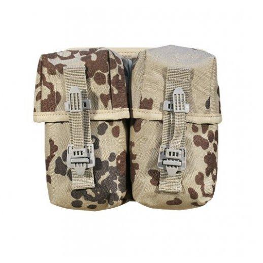 Tacgear magasintaske dobbelt i Dansk Ørken camouflage