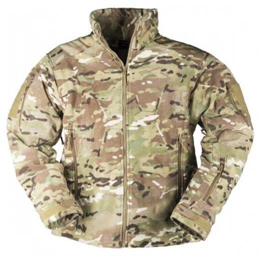 Mil-Tec - Fleece jakke i Multicam