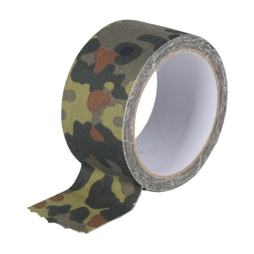 Camouflagetape vandafvisende - Flecktarn camouflage