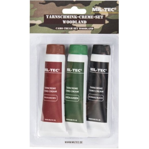 Woodland Ansigtsmaling - 3 stk tuber