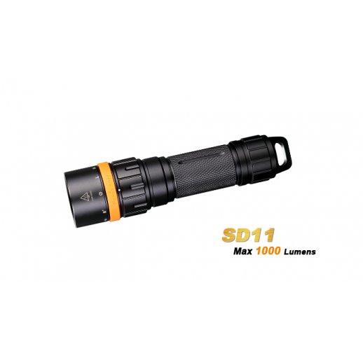 Fenix SD11 - Dykkerlygte