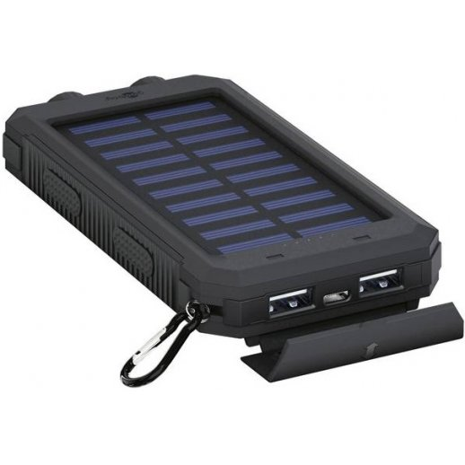 Goobay Outdoor Powerbank Med Solcelle - 8000mAh
