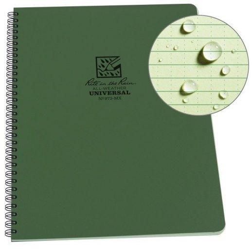 Rite in the Rain - Spiral Notebook