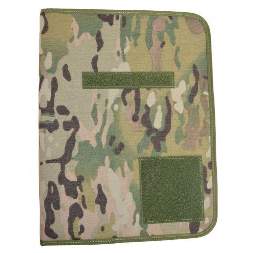 A4 Dokumentmappe i Multicam camouflage