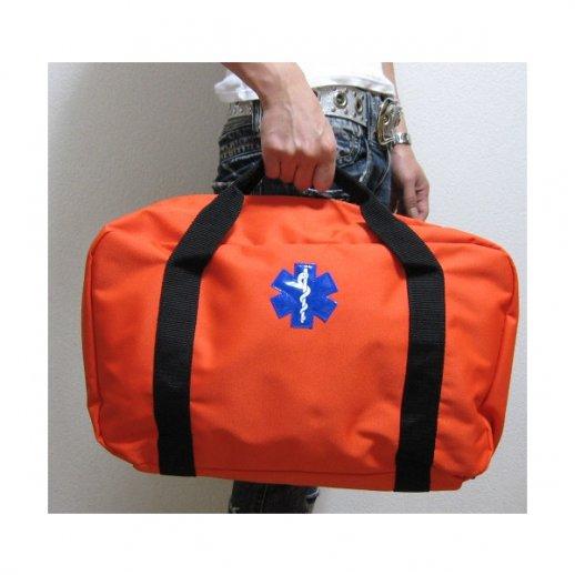 Orange førstehjælps taske