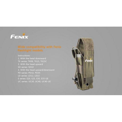 Fenix ALP-MT Nylon hylster - Oliven
