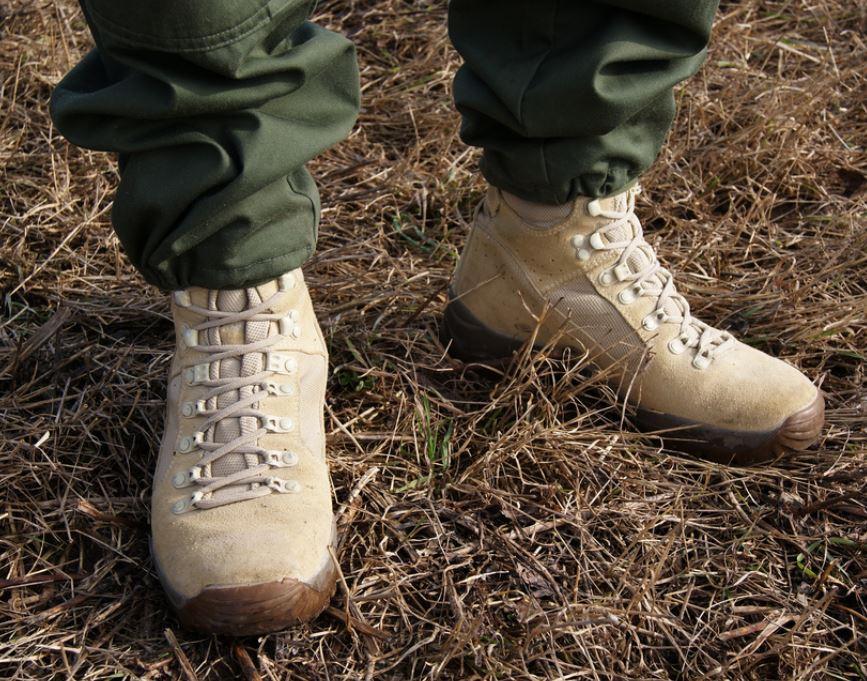 dcc920fae1e Meindl Desert Fox ørken militærstøvler - Sand