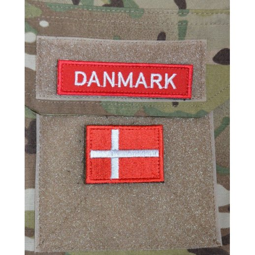 Dannebrog Velcro Patch