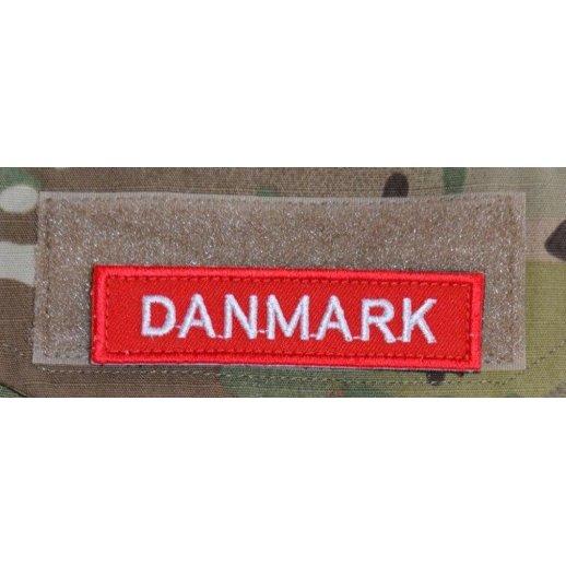 Danmark på Velcro Patch
