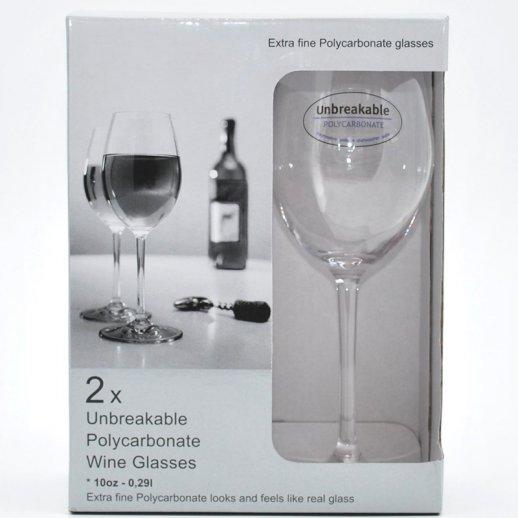 Hvidvin glas 0,29 L Klar 2 stk.