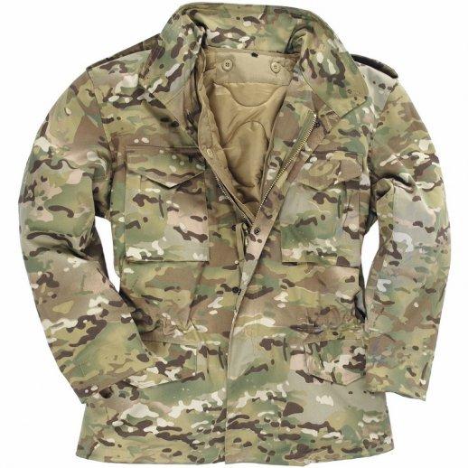 Mil-tec US Kampjakke i Multi Camouflage