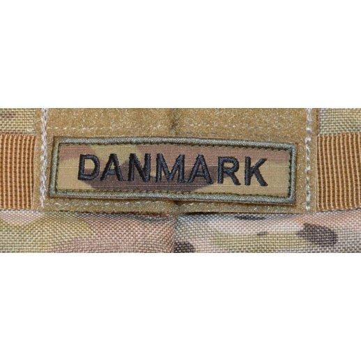 Danmark på Velcro Patch - Multicam