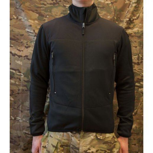 MLV - Tactical Tight Fleece u/hætte - SORT