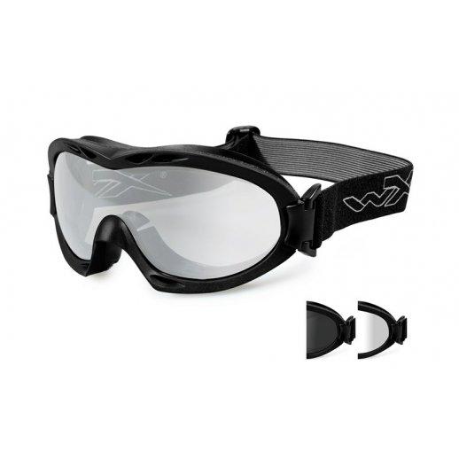 Wiley X - Nerve Smoke/Clear Matte Black Frame