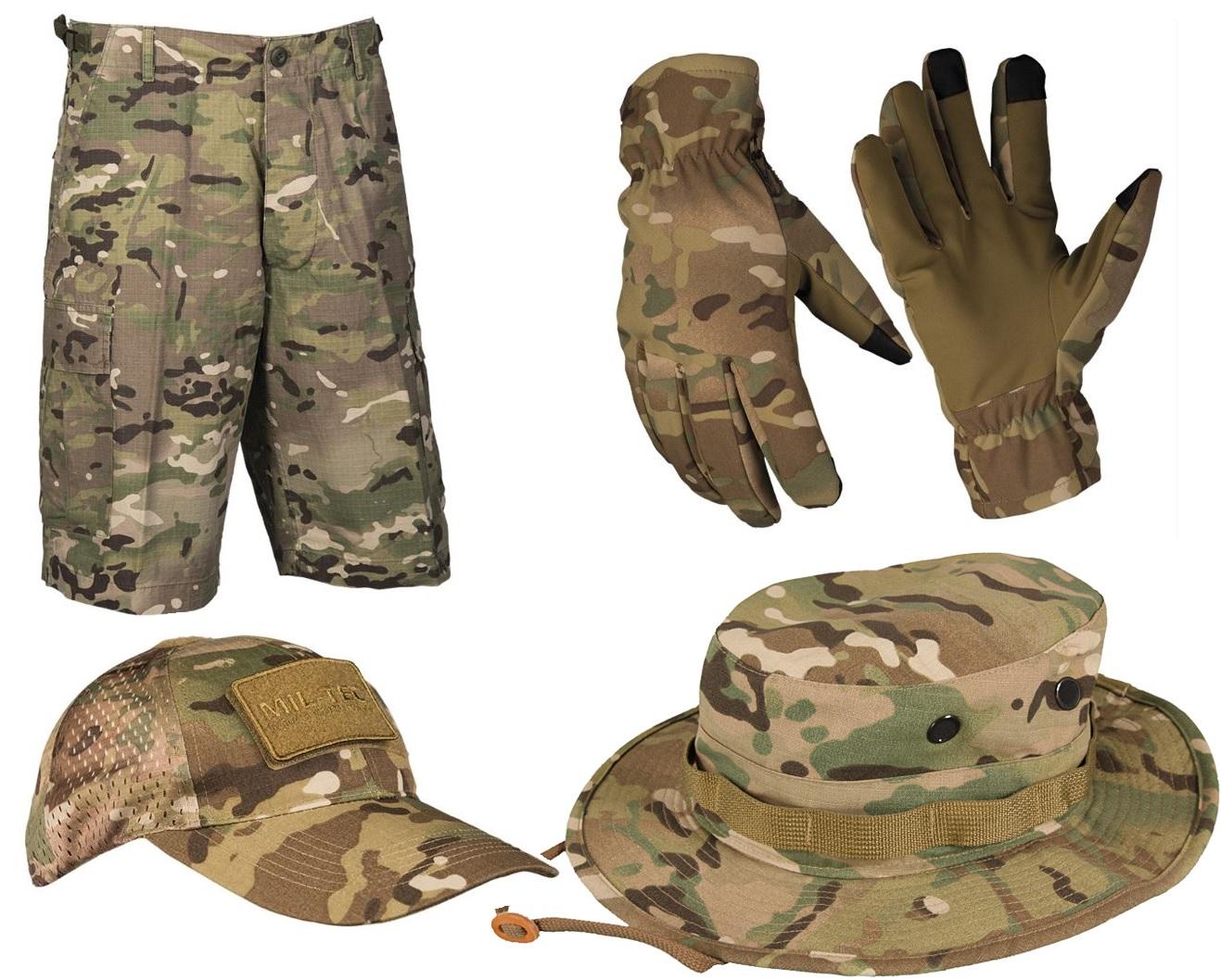 Ubrugte Multicam camouflage | MTS Multicam bukser, jakker & udstyr CB-95
